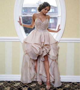 Olivia Mangano Shines in Terani Couture 1811P5782 Prom Gown