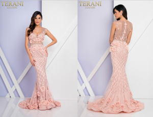 Magnificent Terani Couture 1722GL4488 Evening Dress