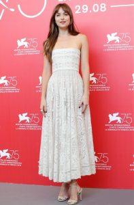 Dakota Johnson, Baby Doll Queen of Venice Film Festival