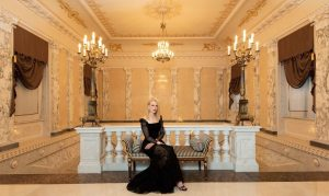 Nicole Kidman in Russia for Omega Exhibition