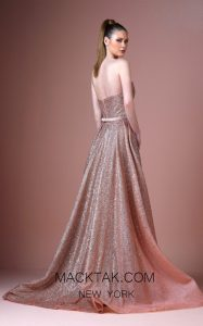 Live Up to the Pink Glittering Dreams in This Disney Designed Gown