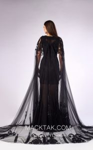 Illuminate Your Beauty in This Majestic Black Dress