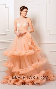 A Flattering Royal Dress For A Royal Party