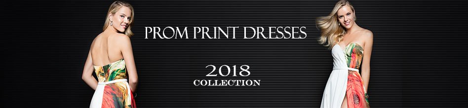Prom Print Dresses