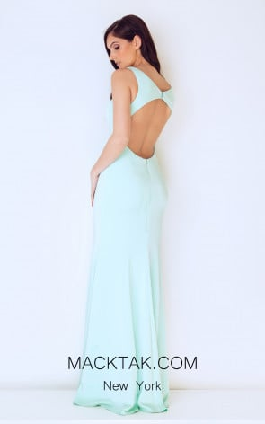 afd46926dd Lovely sleeveless plunging neckline long Dynasty 1013202
