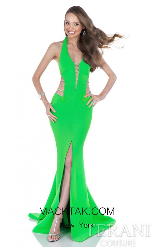 Terani 1611P0214 Green Front