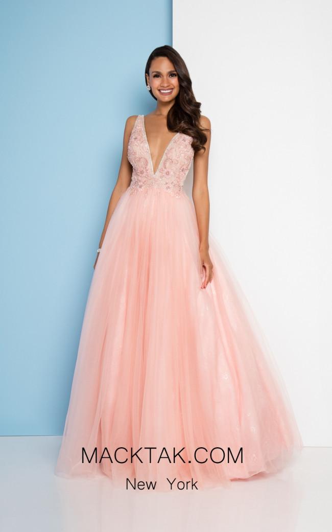 Terani 1811P5824 Pink Nude Front