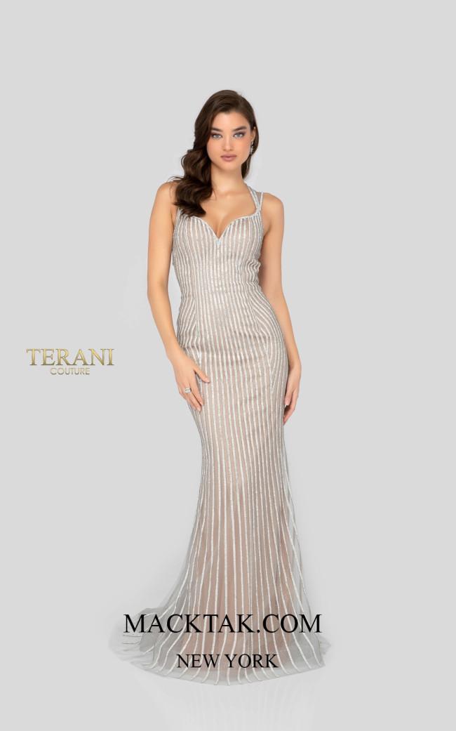 Terani 1912P8225 Front Prom Dress