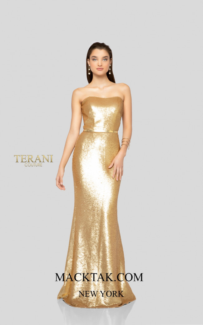 Terani 1912P8277 Front Dress