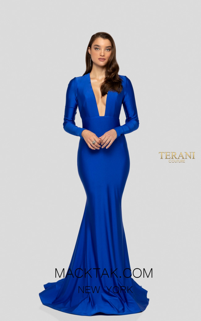 Terani 1912P8285 Front Prom Dress