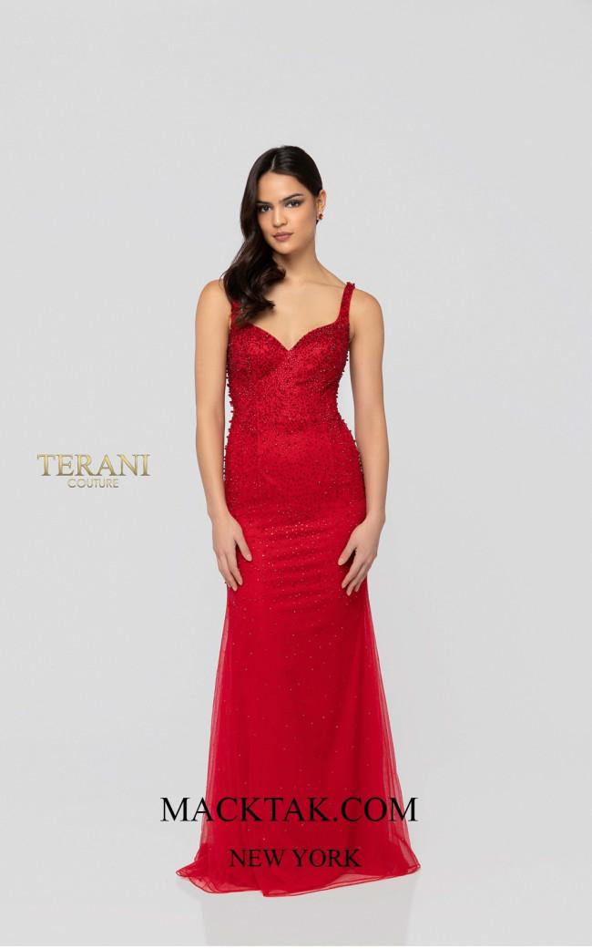 Terani 1912P8438 Front Dress