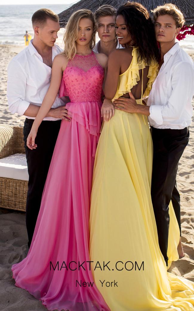 Tarik Ediz 50621 Front Dress