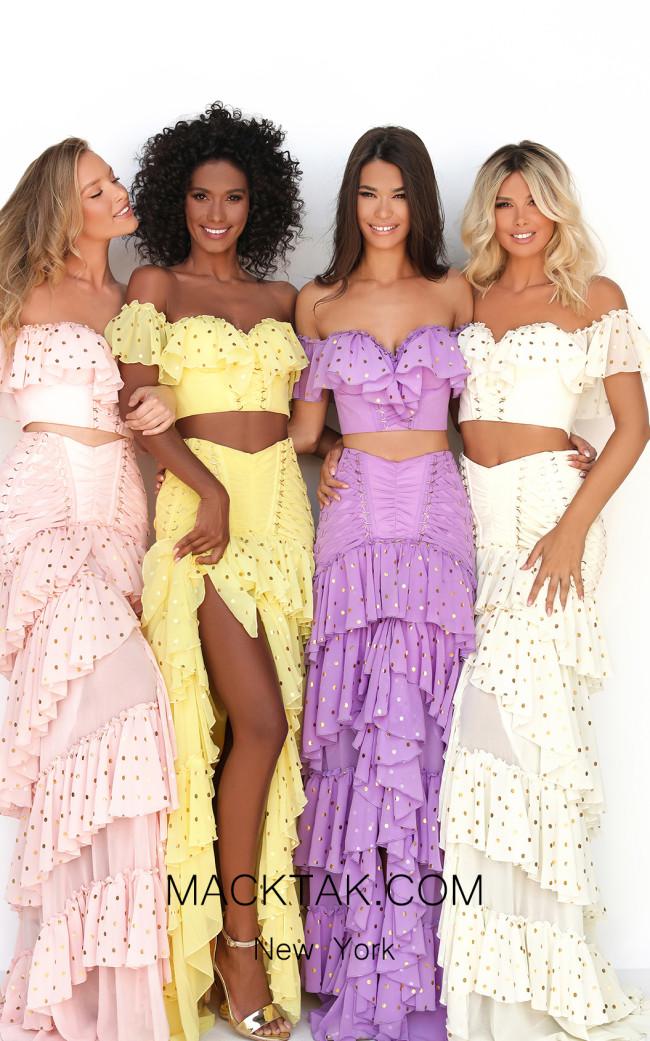 Tarik Ediz 50623 Front Dress