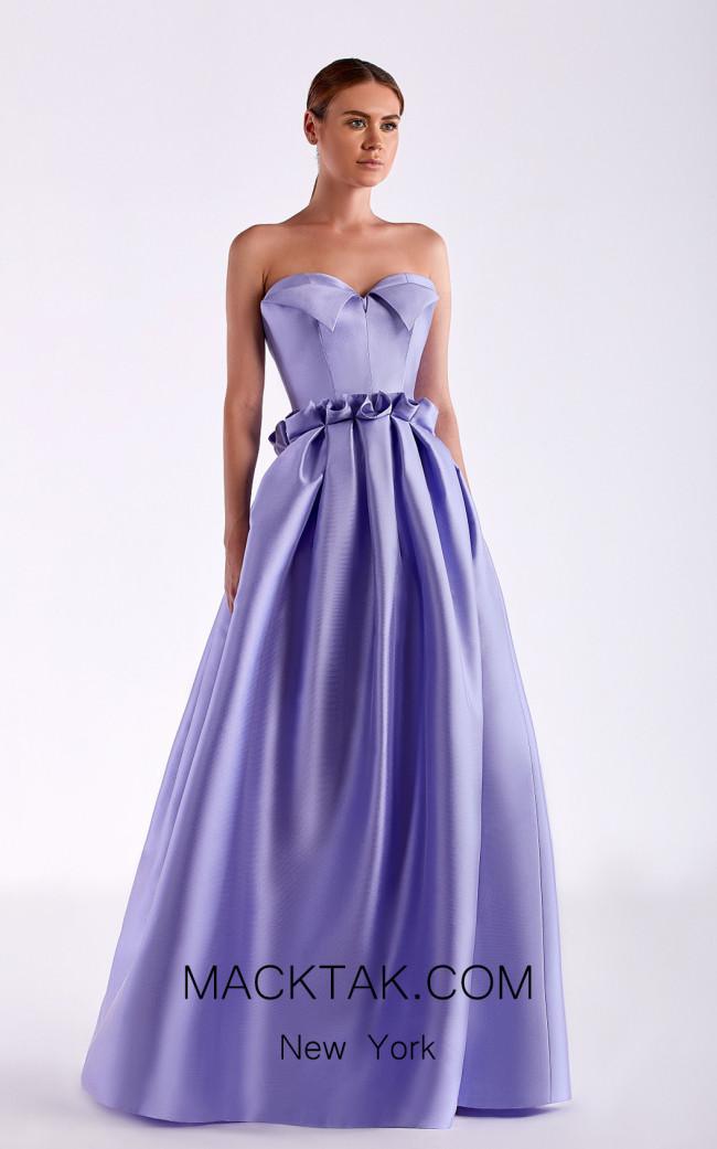 Edward Arsouni SS0508 Lavender Front Dress