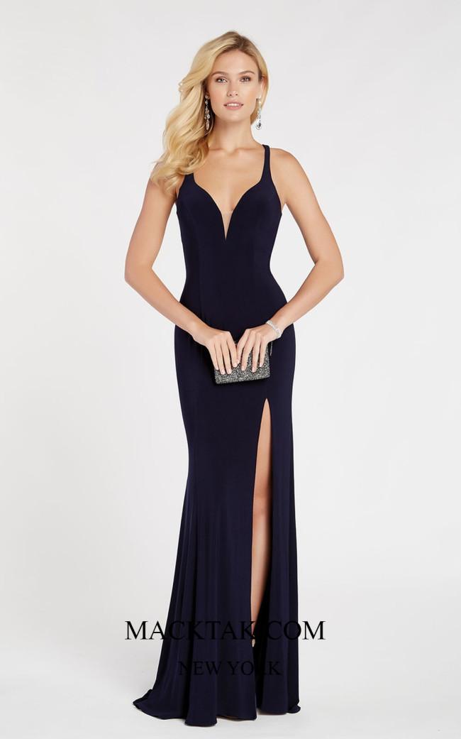 Alyce 60282 Frond Dress