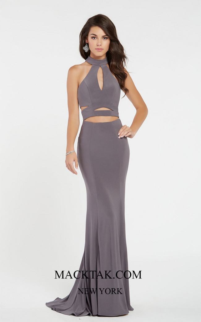 Alyce 60283 Frond Dress