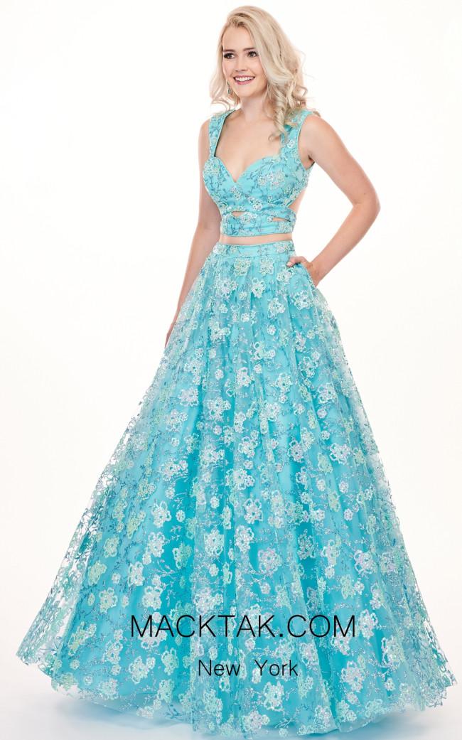 Rachel Allan 6467 Mint Blue Front