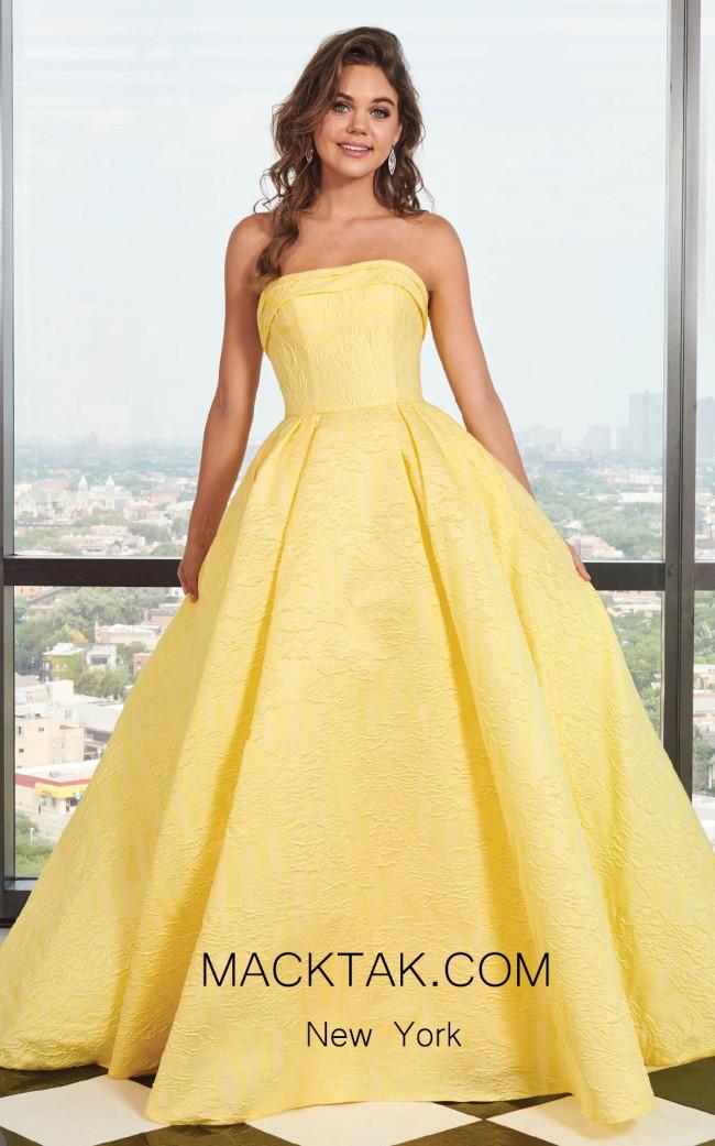 Rachel Allan 6490 Yellow Front