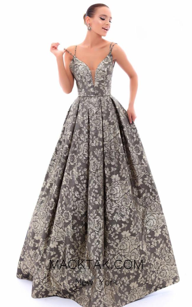 Tarik Ediz 93483 Front Evening Dress