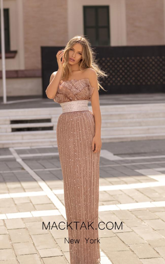 Tarik Ediz 93829 Front Dress