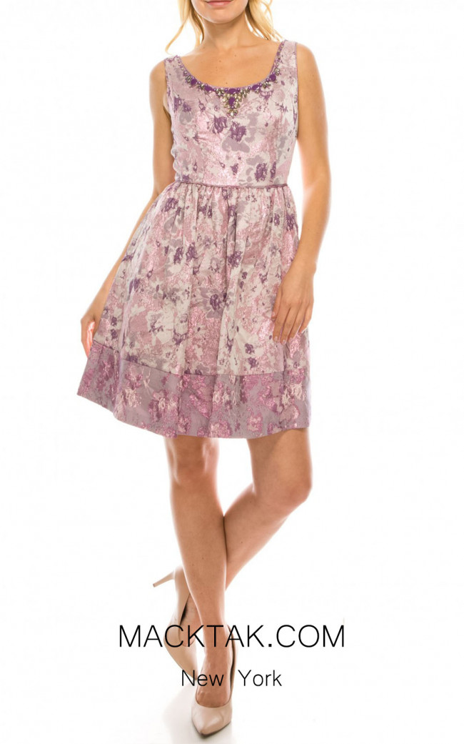 Adrianna Papell 041919570 Front Dress