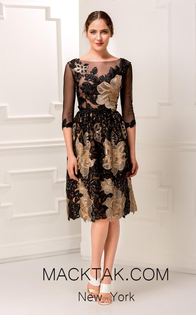 Aida Lorena AL117 Front Cocktail Dress