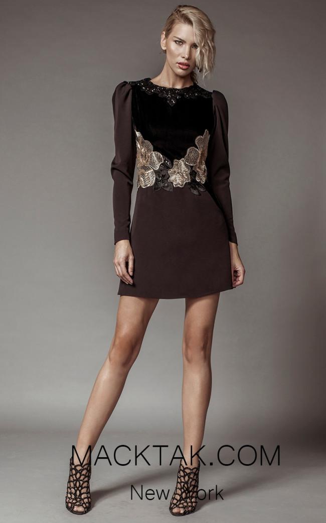 Aida Lorena SL104 Front Short Dress