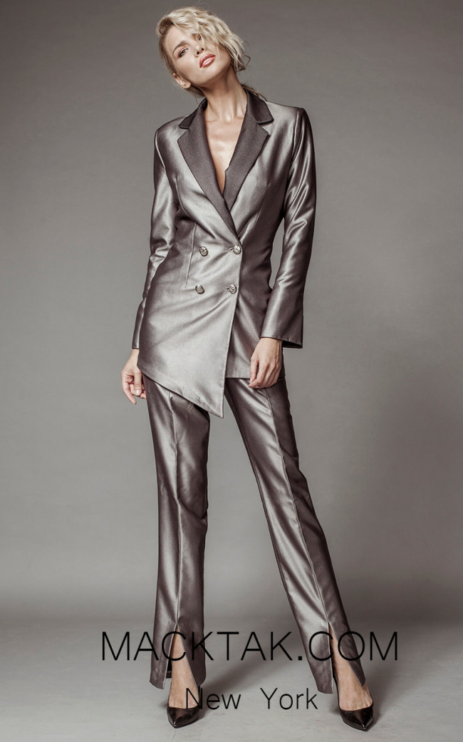Aida Lorena SL108 Front Pantsuit Dress