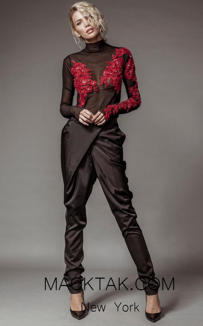 Aida Lorena SL112 Front Jumpsuit Dress