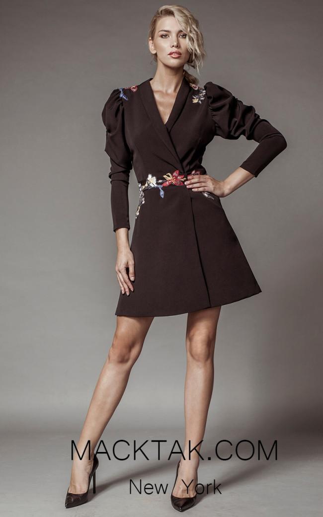 Aida Lorena SL124 Front Jacket Dress