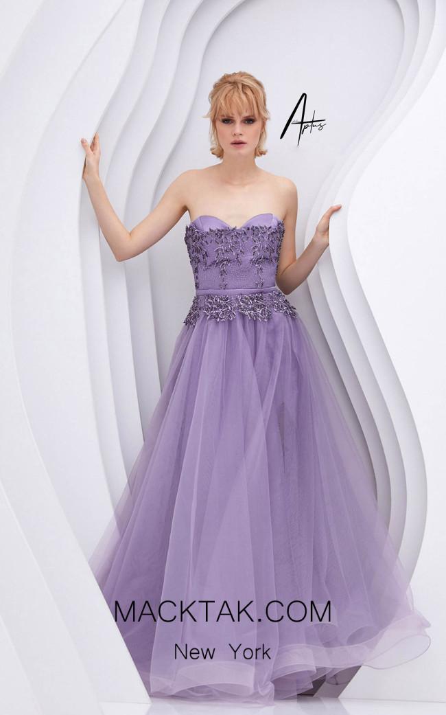Alchera Y0572 Lilac Front Dress