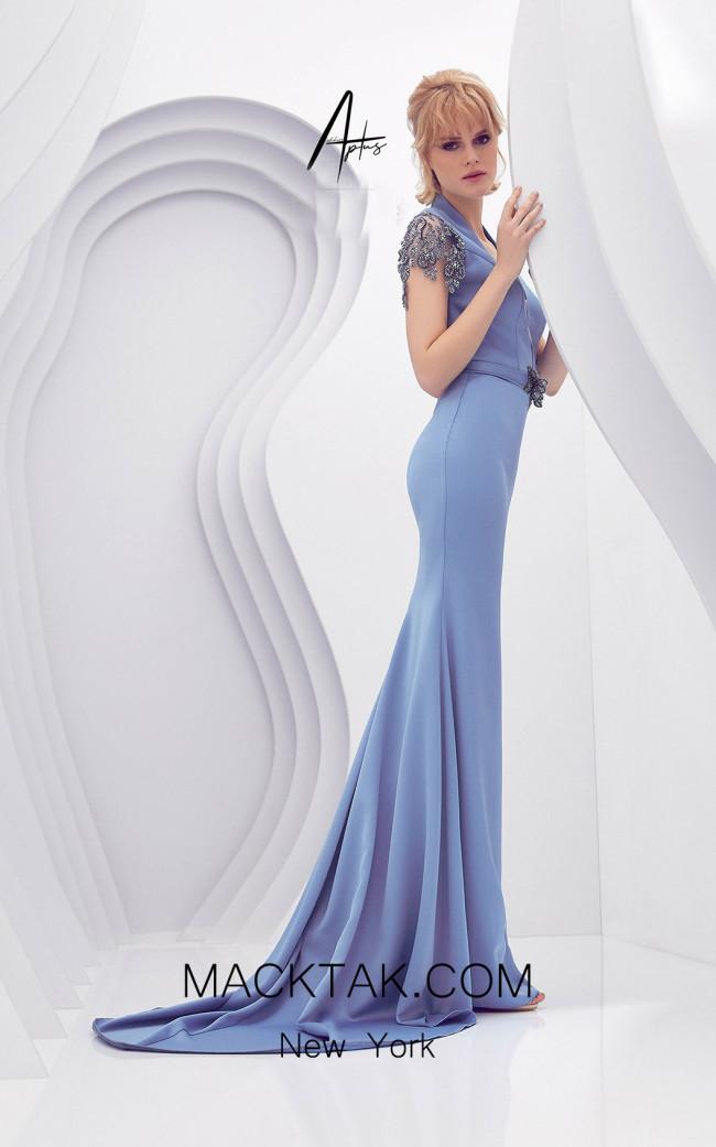 Alchera Y0601 Blue Side Dress