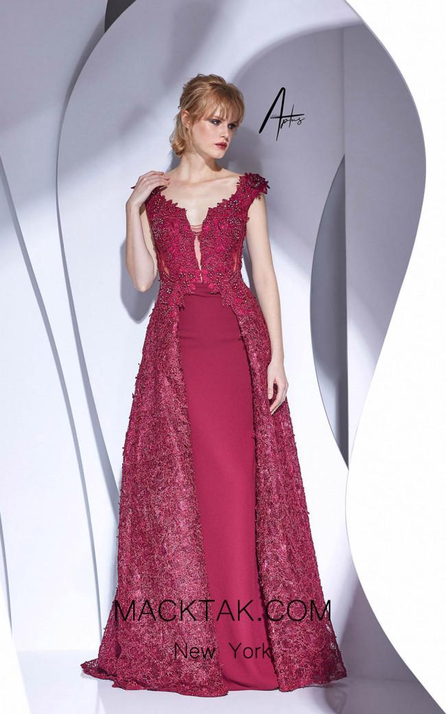 Alchera Y0627 Cherry Front Dress