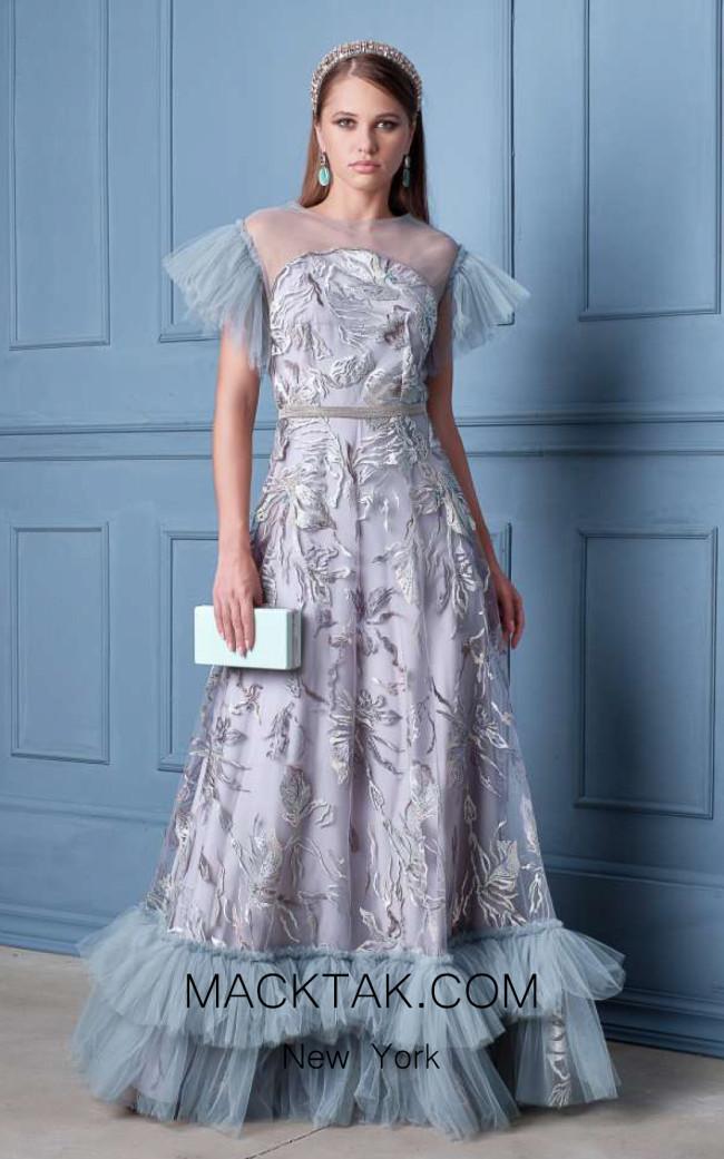 Alda Ciceu NRP SS20-04 Gray Front Dress