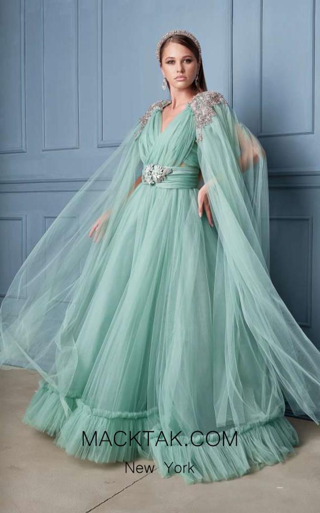 Alda Ciceu NRP SS20-05 Mint Front Dress