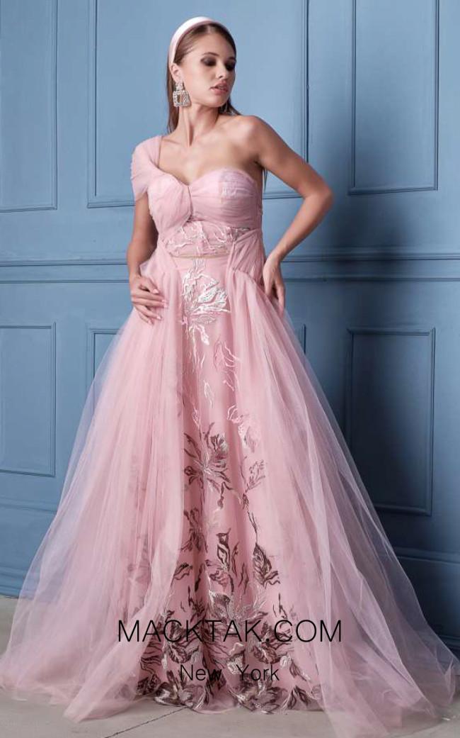 Alda Ciceu NRP SS20-13 Pink Front Dress