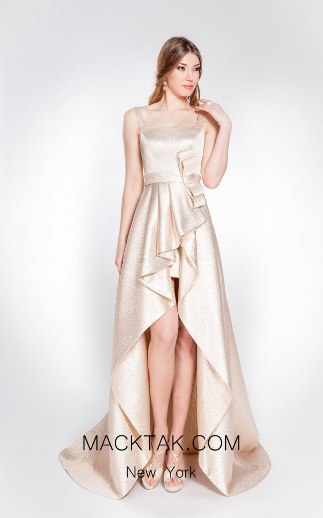 Alma Couture AC1021 Front Evening Dress