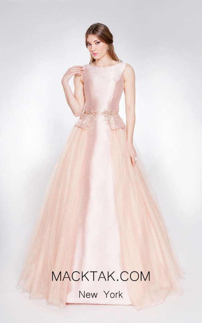 Alma Couture AC1057 Front Evening Dress