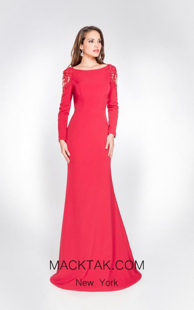 Alma Couture AC1062 Front Evening Dress