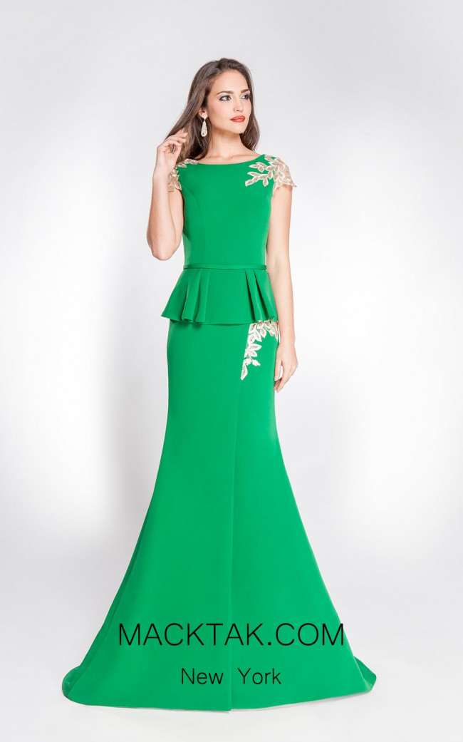 Alma Couture AC1064 Front Evening Dress