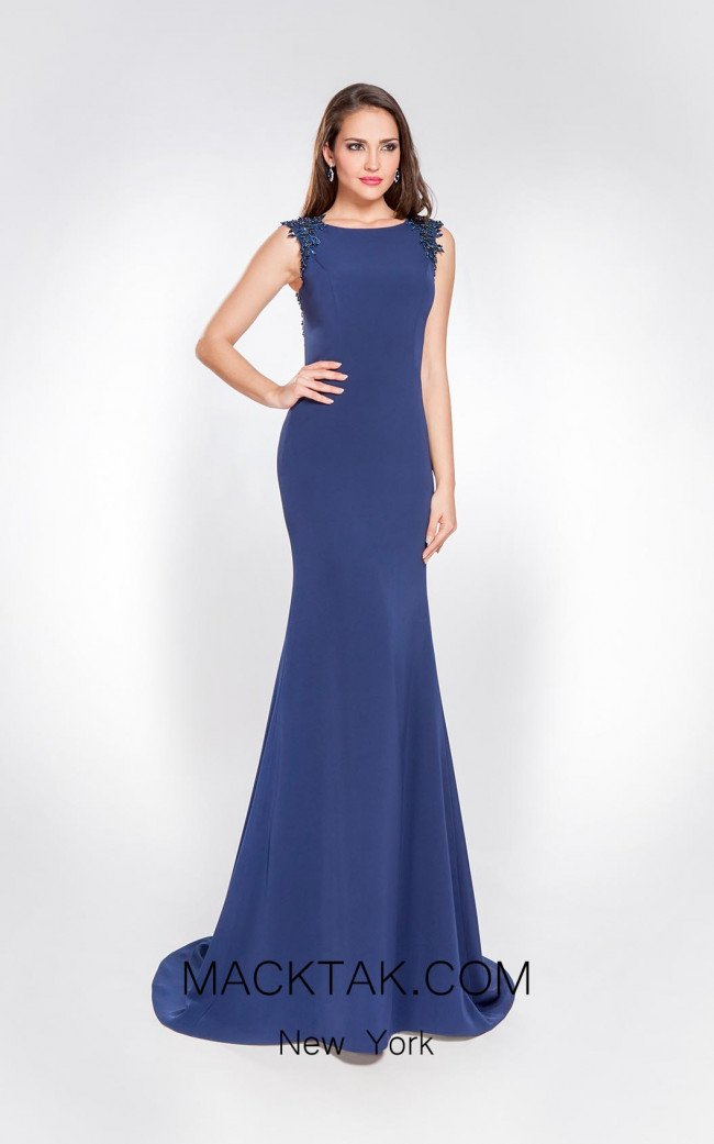 Alma Couture AC1065 Front Evening Dress