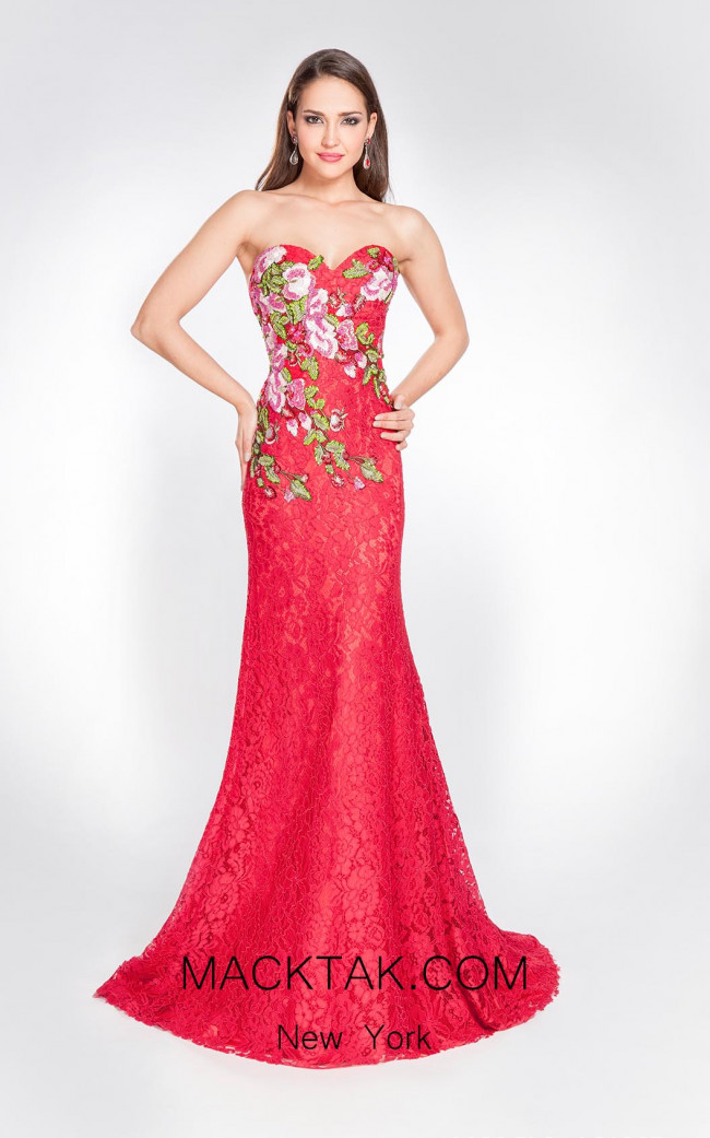 Alma Couture AC1067 Front Evening Dress