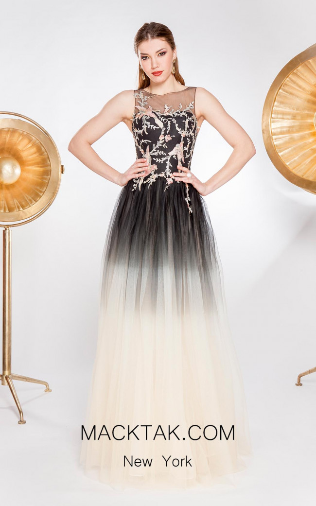 Alma Couture AC1069 Front Evening Dress