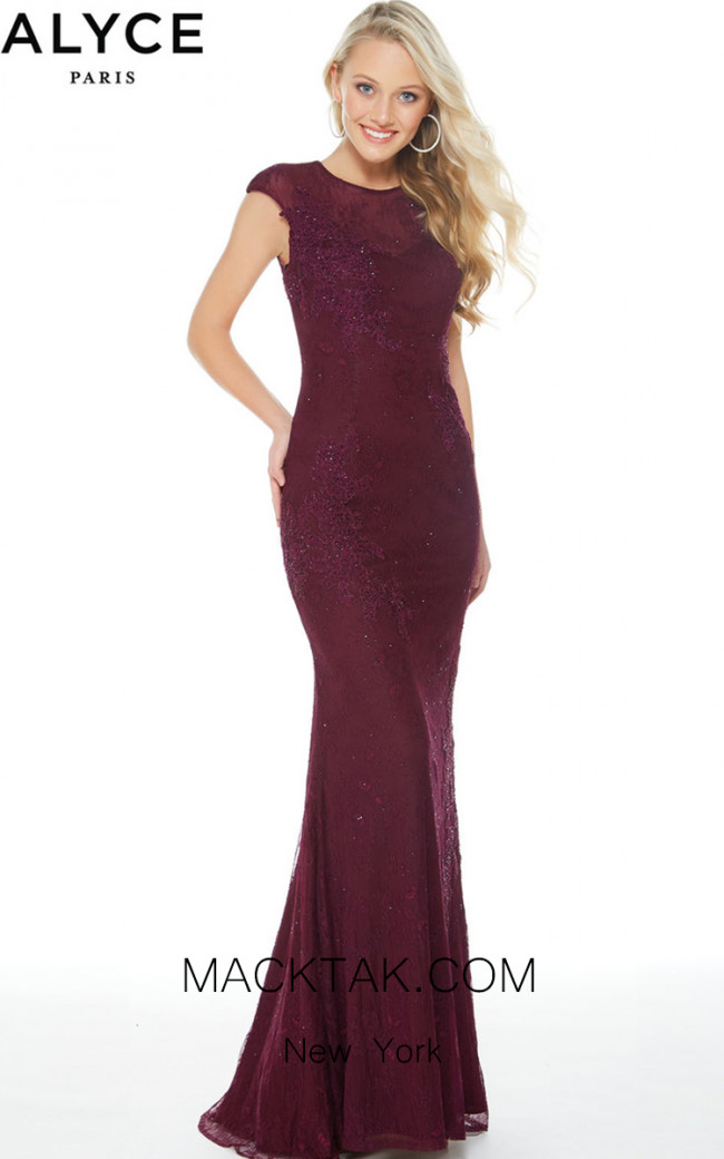 Alyce 60261 Front Evening Dress
