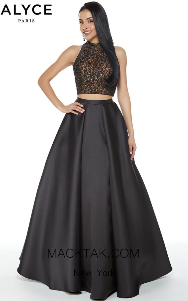 Alyce 60276 Evening Front Dress