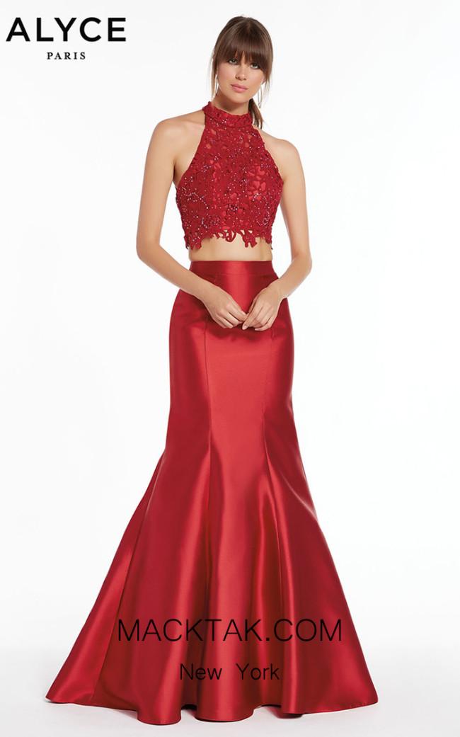 Alyce Paris 1409 Front Dress