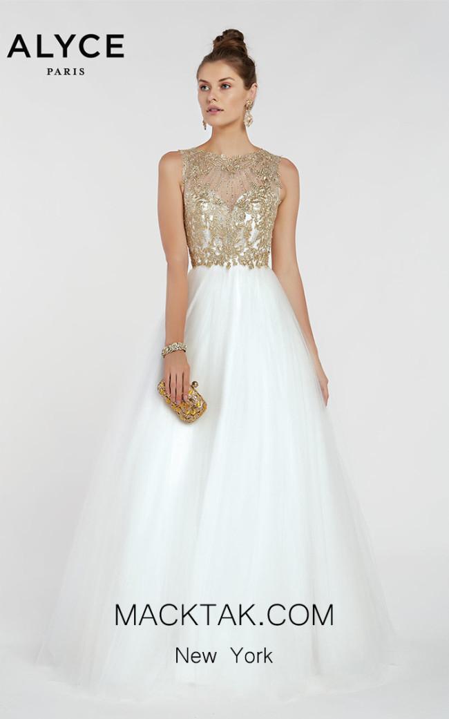 Alyce Paris 1414 Front Dress