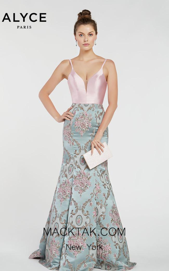 Alyce Paris 1438 Front Dress