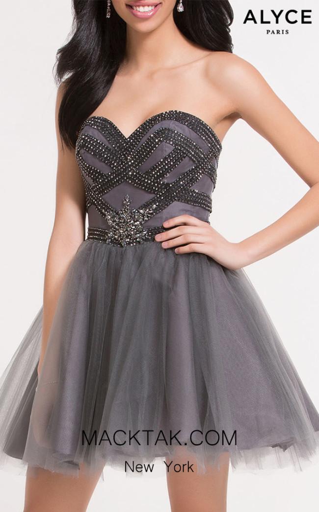 Alyce Paris 2637 Front Dress