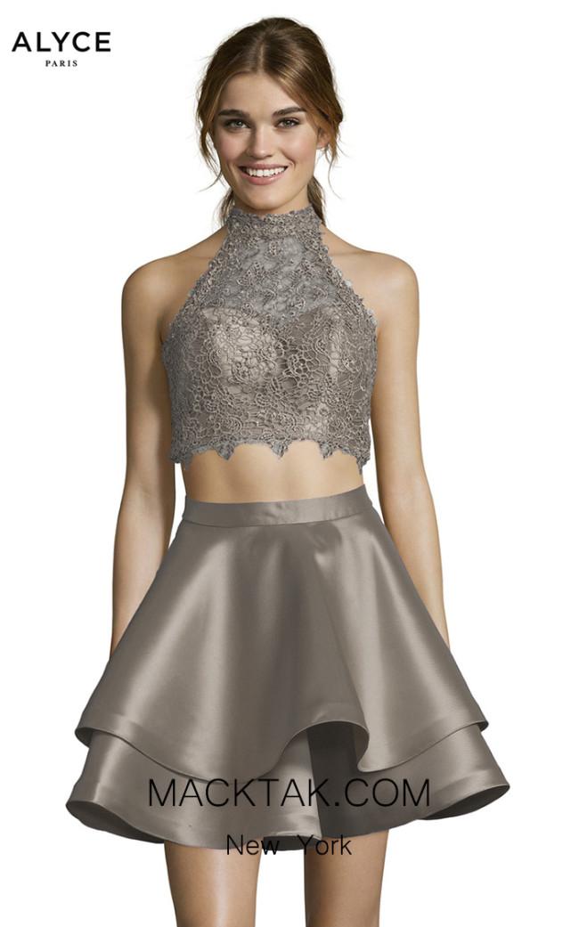 Alyce Paris 3735 Stone Front Dress